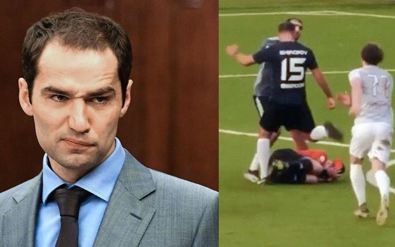 На футболиста Романа Широкова завели уголовное дело после избиения судьи во время матча