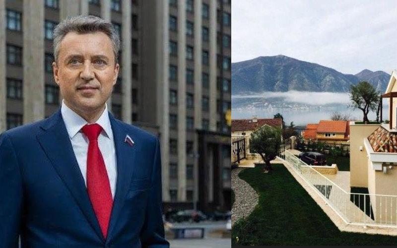 Депутат от «Единой России» Анатолий Выборный избавился от своей 500-метровой виллы в Черногории, переписав её на сына